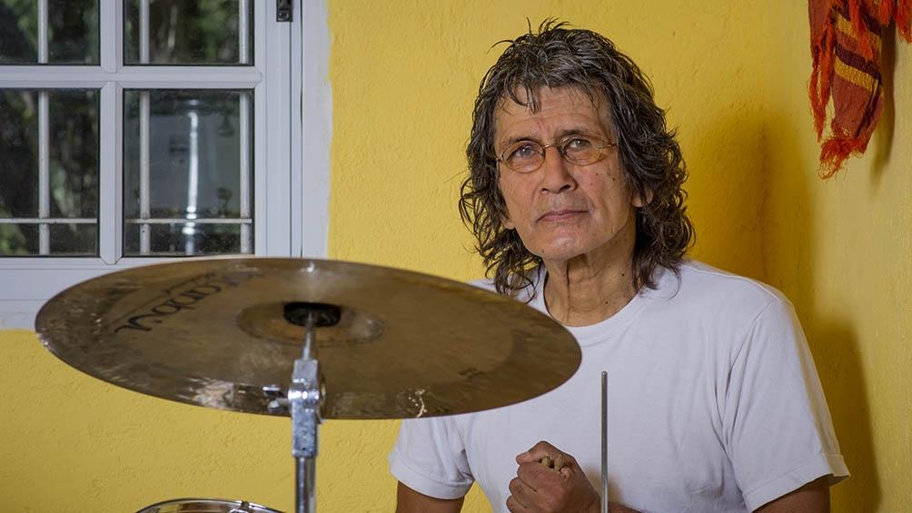 Amaya, el baterista de Pappo