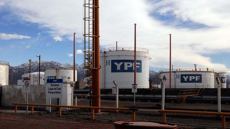 Una explotación de Hidrocarburos en Mendoza.