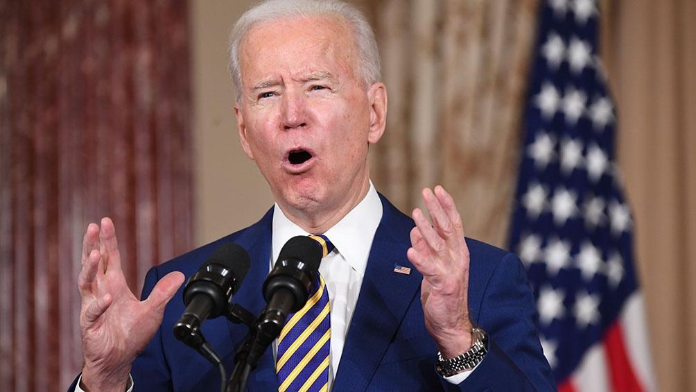 El primer ataque ordenado por Biden como presidente mató el jueves pasado a 22 integrantes de una milicia iraquí en Siria.