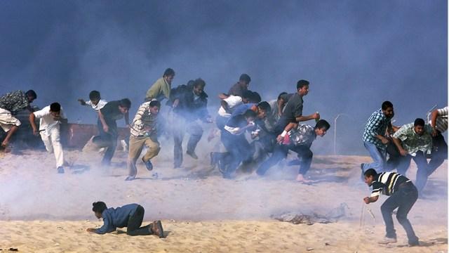 La policía israelí reprimió. Hay heridos y detenidos.