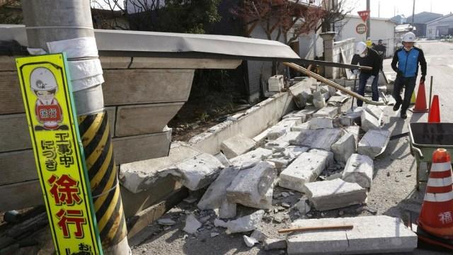 Según la JMA, se trata de una réplica lejana del terremoto del 11 de marzo de 2011.