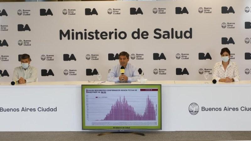 Resultado de imagen para Ciudad de Buenos Aires: el lunes comienza la vacunación a mayores de 80 años