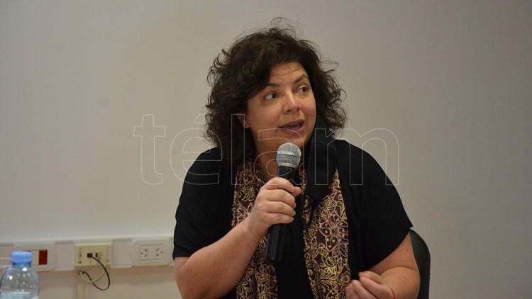 "Carla Vizzotti: ""Se distribuyeron 350 mil dosis del primer componente de la Sputnik V durante este fin de semana largo""."