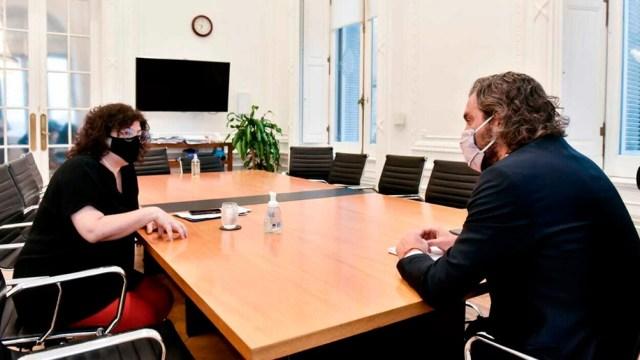 """""""Desde el Ministerio de Salud vamos a fortalecer la transparencia"""", dijo Vizzotti."""