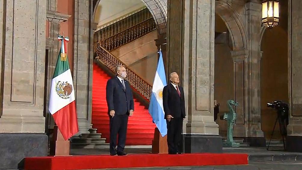 Alberto Fernández: «Que la Argentina y México encaren un futuro juntos es nuestro deber»
