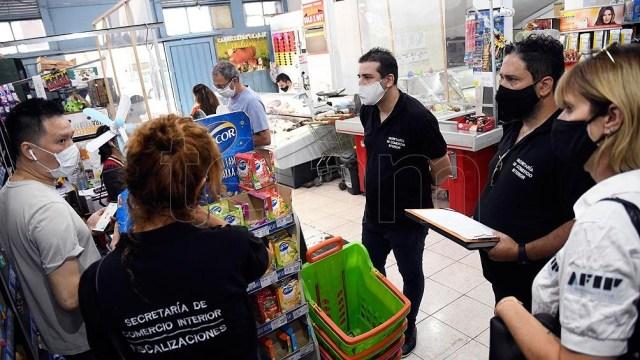 Control de precios en supermercados chinos y autoservicios