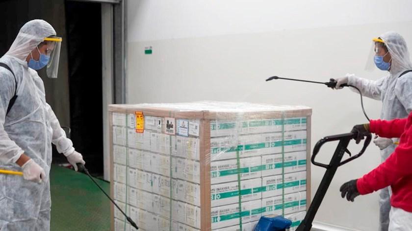 El sábado comenzó en el país la distribución de 492.400 dosis de la vacuna Sinopharm.