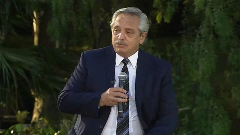 El Presidente en Parque Norte.