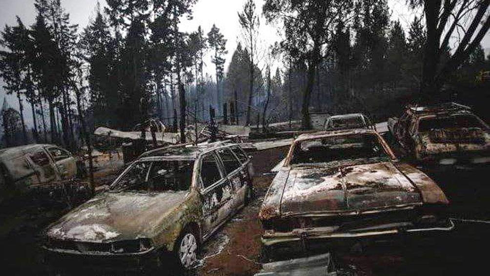 """Los dos lugares donde se habría iniciado el fuego """"siguen la línea del tendido eléctrico"""""""