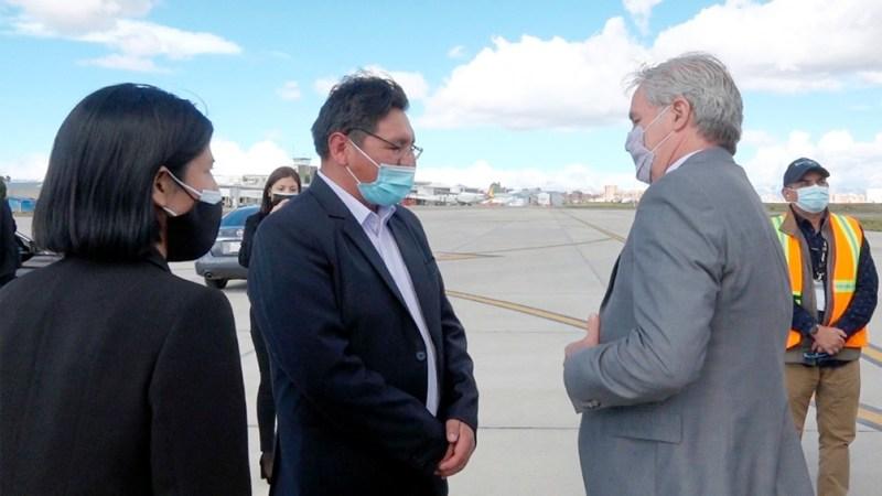 Solá se reunió con el canciller boliviano para potenciar la relación  bilateral - Télam - Agencia Nacional de Noticias