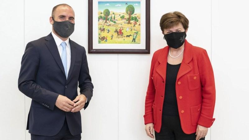 En Roma, Georgieva y Guzmán se encontraron y afianzaron un diálogo que sirvió a la Argentina para avanzar con la reestructuración de la deuda.