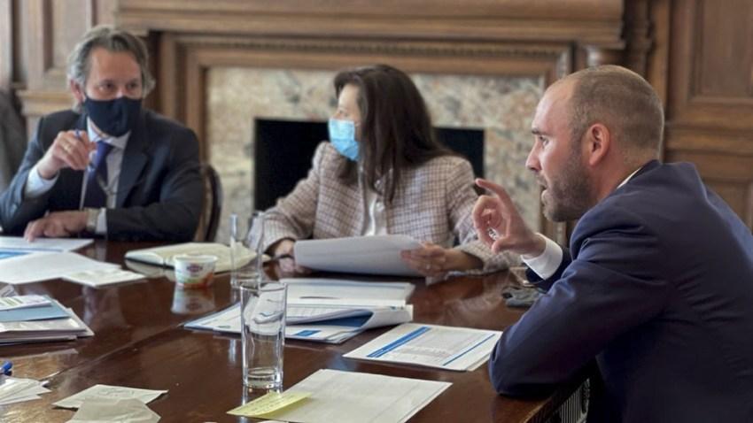 Ronda de reuniones del ministro Martín Guzmán en EEUU.