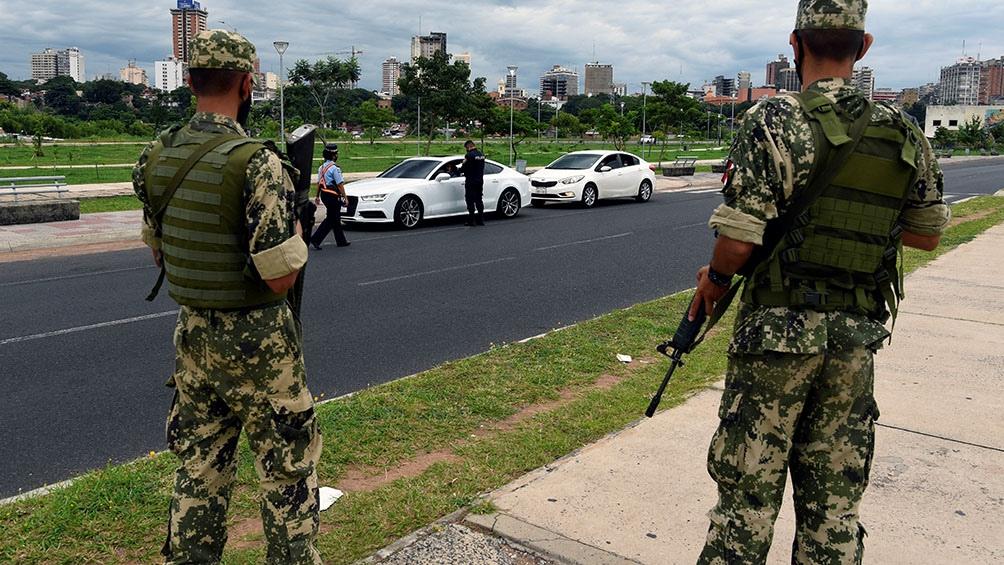 En Paraguay empezó a regir un confinamiento estricto.