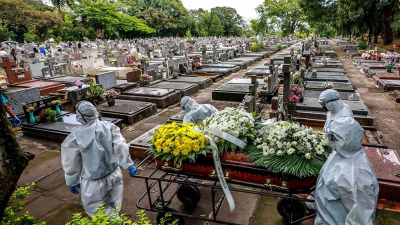 El país es el segundo con más muertes en el mundo, detrás de Estados unidos