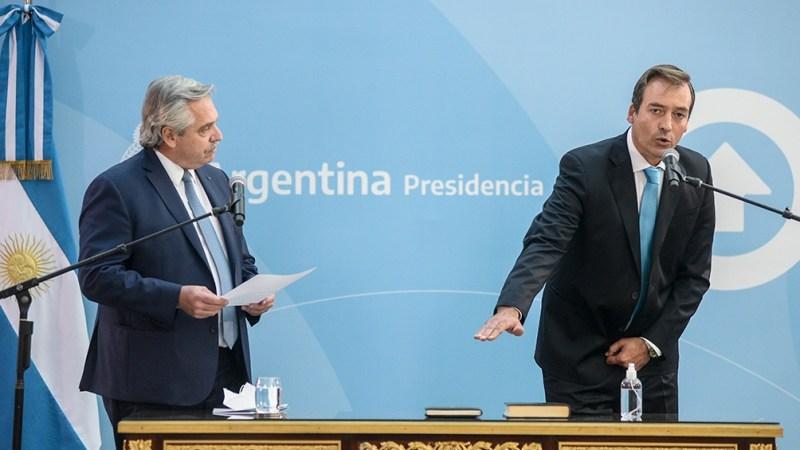 El exdiputado nacional por Río Negro Martín Soria asumió formalmente como nuevo ministro de Justicia y Derechos Humanos de la Nación