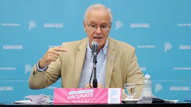 El ministro de Salud Daniel Gollan convocó a los bonaerenses