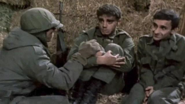 """""""Los chicos de la guerra"""" llegó a los cines con los combates todavía muy frescos en la memoria."""
