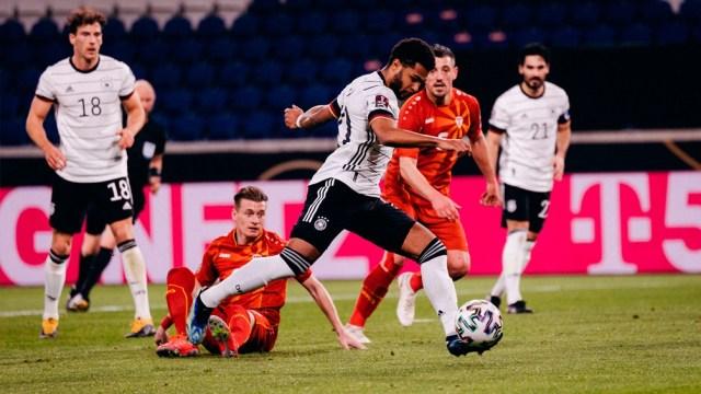 La selección alemana cayó ante Macedonia del Norte, tras más de 19 años por eliminatorias mundialistas (Foto: @DFB_Team)