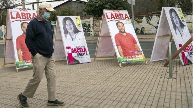 Chile celebra elecciones para la reforma constitucional, regionales y municipales