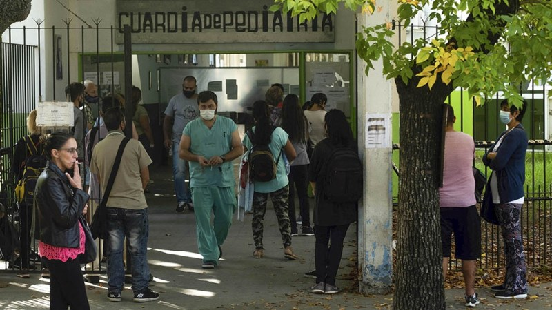El hospital Isidoro Iriarte, del partido bonaerense de Quilmes.
