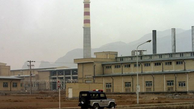 La central atómica subterránea de Natanz sufrió el domingo un apagón