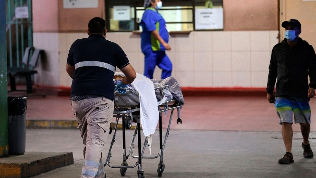 Chile con récords de pacientes en terapia intensiva
