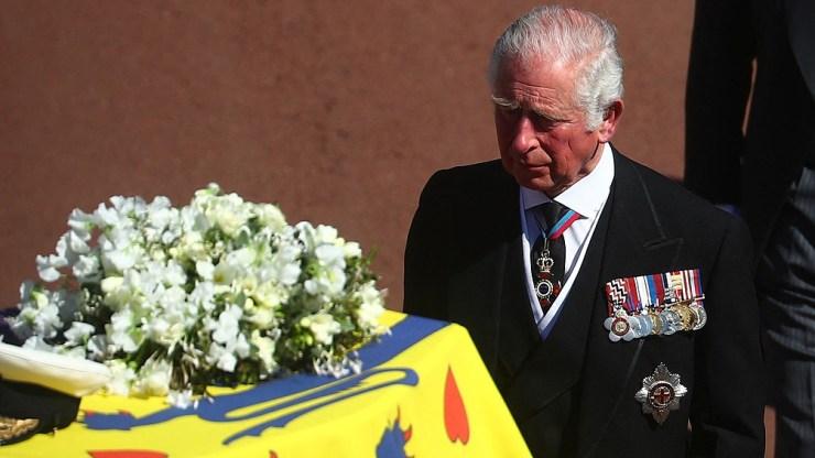 Tras la ceremonia, los restos serán trasladados a la cripta real.