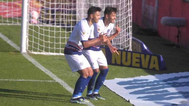 San Lorenzo y Argentinos igualaron 1 a 1.