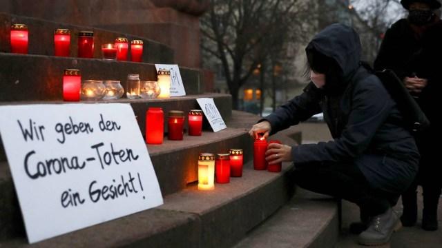 El RKI dijo que Alemania registró 19.185 nuevos casos de coronavirus y 67 muertes en las últimas 24 horas.