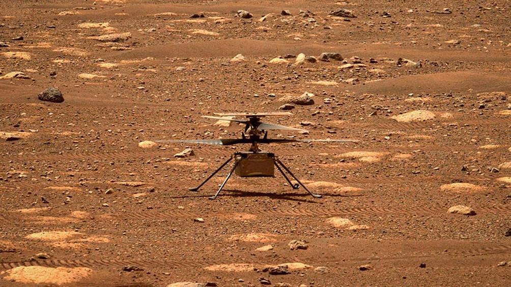 Ingenuity, la misión en Marte.