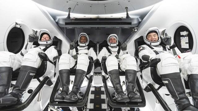 La de que culminó este domingo es la primera misión regular que es transportada de regreso a la Tierra por SpaceX.
