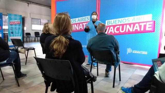 El jueves fueron inmunizadas 115.169 personas, lo que constituyó un récord en la provincia de Buenos Aires.