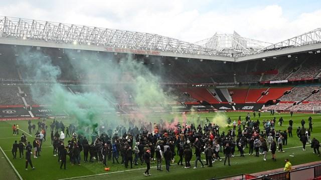 Al estadio ingresaron cerca de 200 hinchas (AFP).