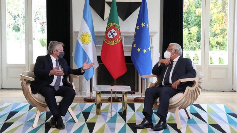 Luego de la declaración conjunta, Fernández y Costa compartirán un almuerzo en el mismo lugar.