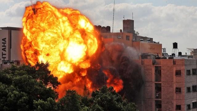 La aviación bombardeó Gaza más de 600 veces desde el lunes