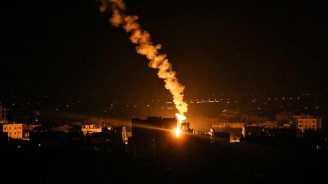 """Israel acusó al movimiento palestino Hamas de haber """"premeditado"""" el conflicto."""