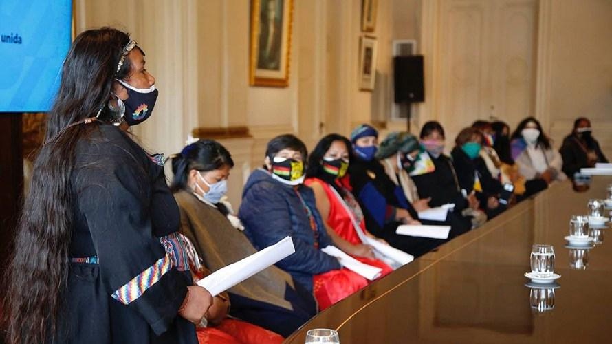 """Desde el Movimiento de Mujeres Indígenas informaron: """"Nos dieron fecha para el 10 de junio para volver a reunirnos""""."""