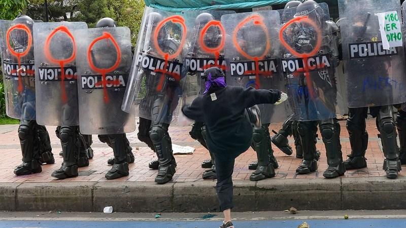 Al menos 60 personas fueron asesinadas en el marco de las manifestaciones, según la ONG Indepaz