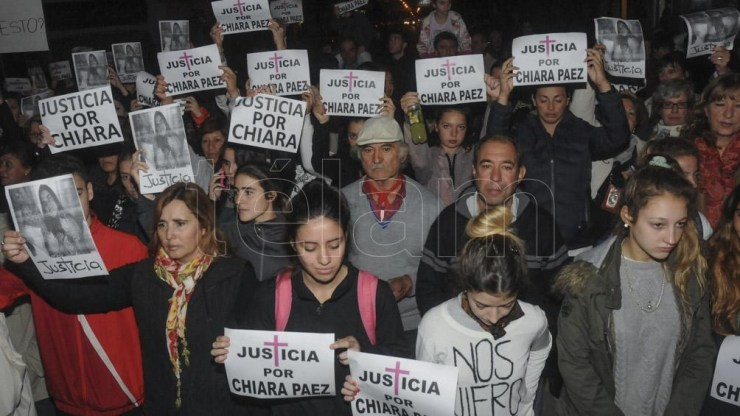 """Camargo: """"Aunque sea confirmen esos 21 años y seis meses, que sean reales y definitivos y no seguir dando tantas vueltas"""". Foto: José Granata."""