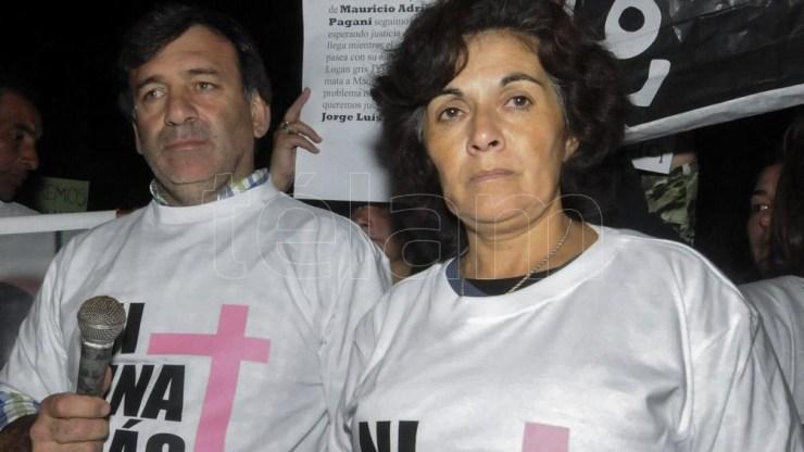 Verónica Camargo, madre de la adolescente Chiara Páez. Foto: José Granata.
