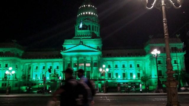 Congreso de la Nación. Foto: Fernando Gens.