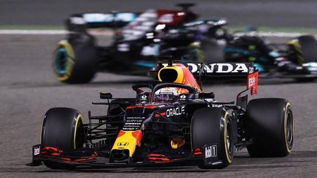 """Verstappen mostró su poderío junto al Red Bull y se llevó la """"pole"""" en Paul Ricard (foto archivo)"""
