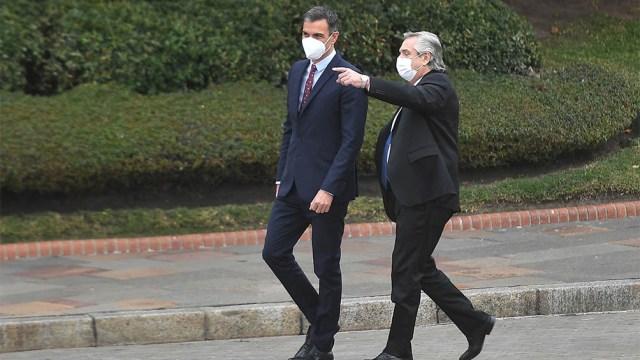 Fernández hizo mención a una conversación telefónica que mantuvieron en marzo de 2020, cuando el virus comenzó a arrasar.
