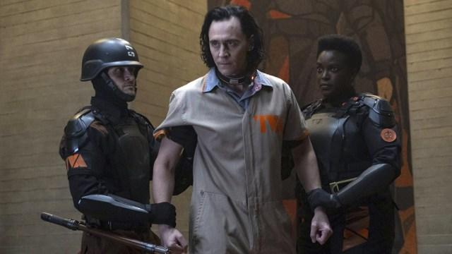 Hiddleston como el villano de la serie tomada del universo Marvel