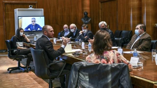 """""""El país viene experimentando un crecimiento de las reservas"""", dijo Guzmán."""