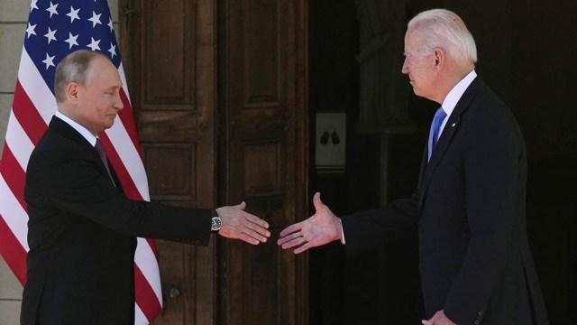 Joe Biden y Vladimir Putin iniciaron en Ginebra, Suiza, su muy anticipada primera cumbre.