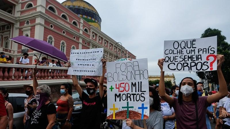 Desde la izquierda, que habían respetado los llamados a no aglomerar, convocaron a manifestarse ya en mayo.
