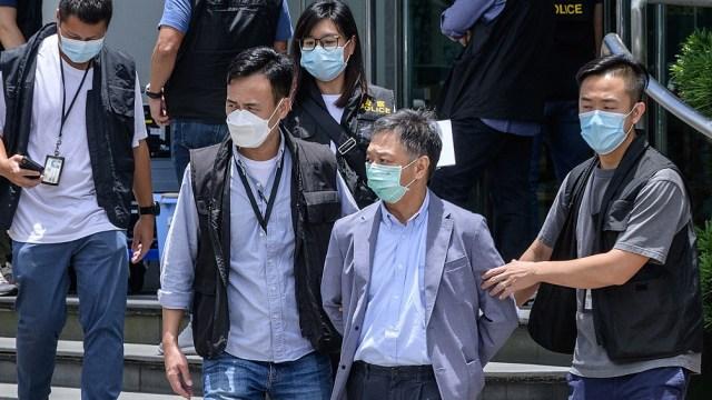 Más de 100 personas han sido detenidas bajo la nueva Ley de Seguridad