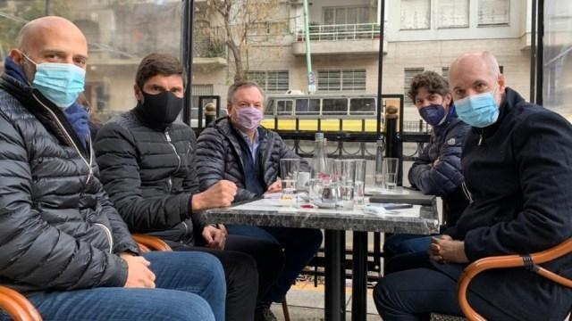 Larreta también mueve fichas con Lousteau y miembros del radicalismo.