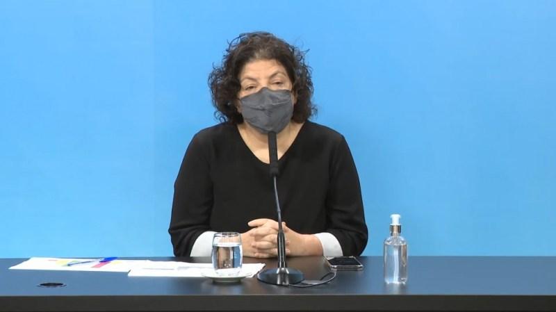 Carla Vizzotti confirmó avances en las negociaciones con Pfizer y otros dos laboratorios estadounidenses.